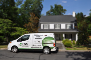 Van with House blur